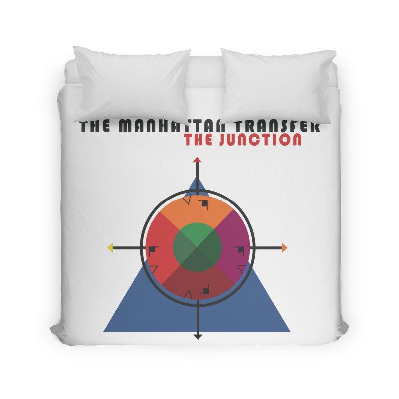 THE JUNCTION Home Duvet by The Manhattan Transfer's Artist Shop