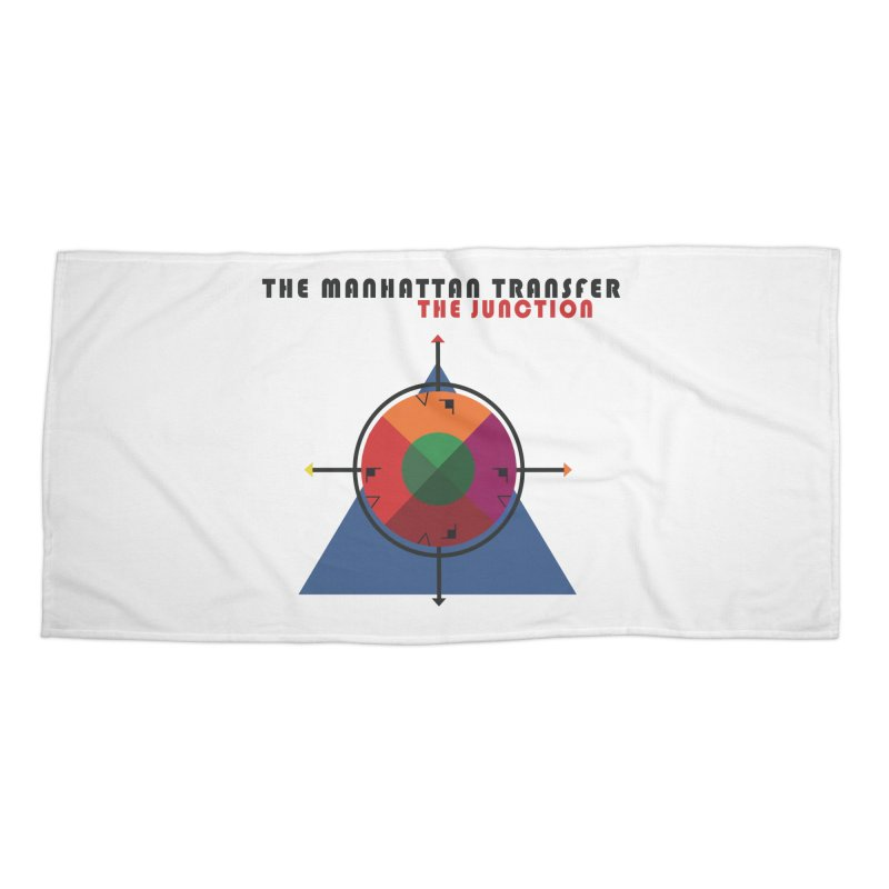 THE JUNCTION Accessories Beach Towel by The Manhattan Transfer's Artist Shop