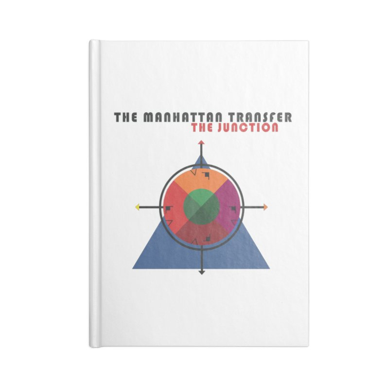 THE JUNCTION Accessories Lined Journal Notebook by The Manhattan Transfer's Artist Shop