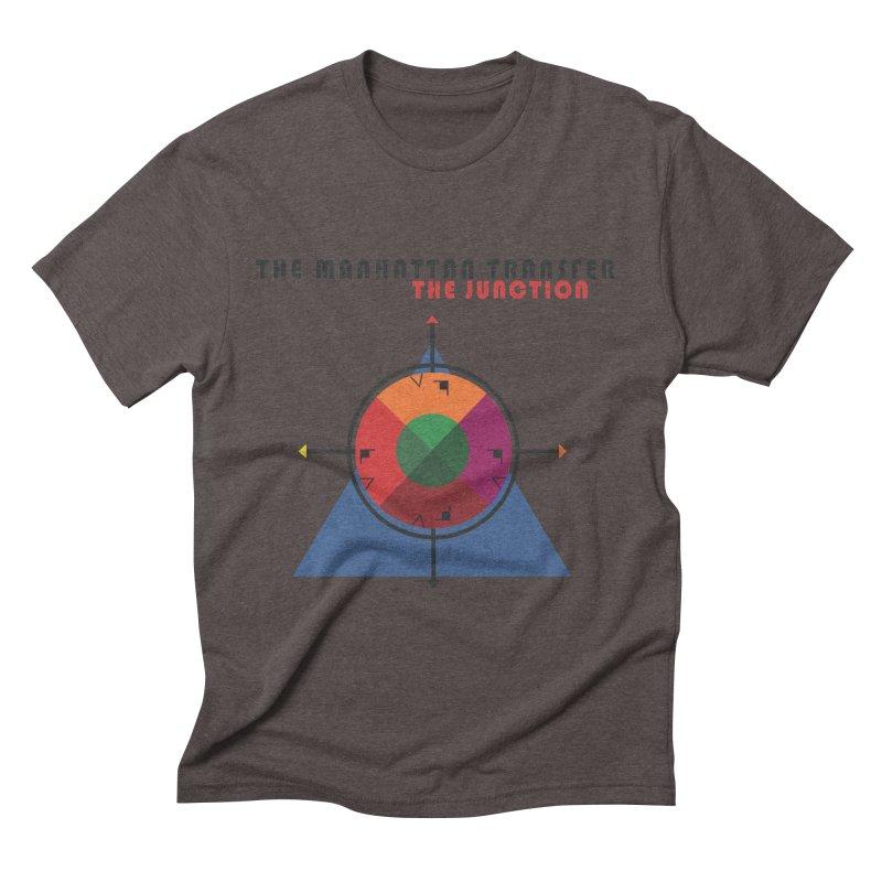 THE JUNCTION Men's T-Shirt by The Manhattan Transfer's Artist Shop