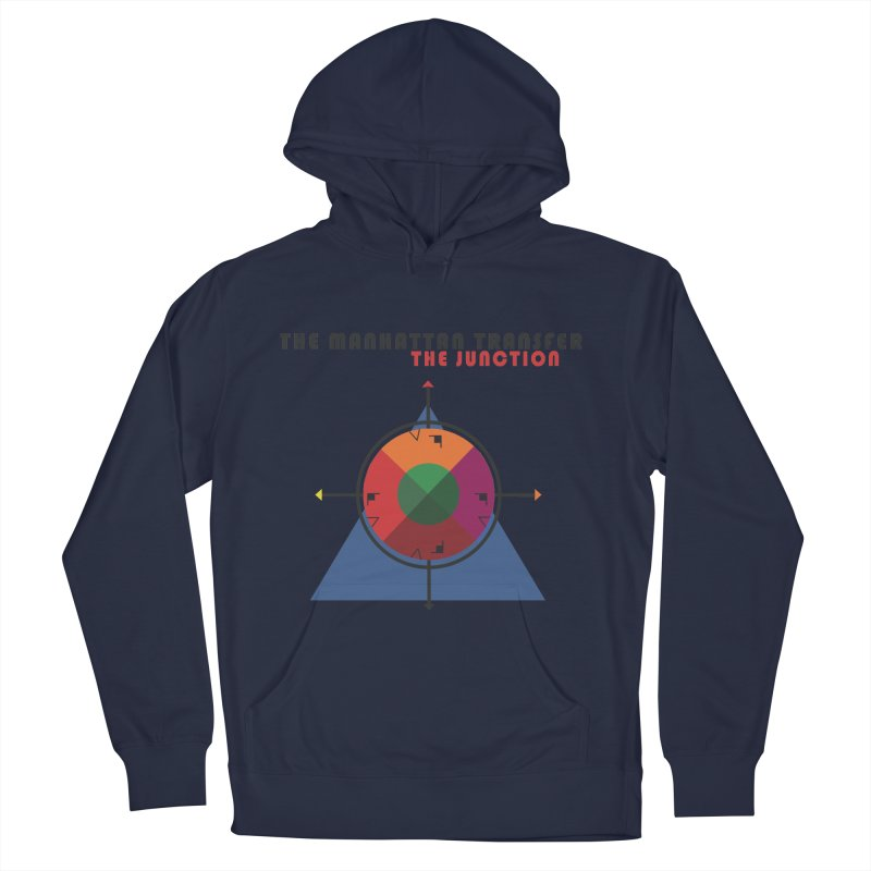 THE JUNCTION Men's French Terry Pullover Hoody by The Manhattan Transfer's Artist Shop