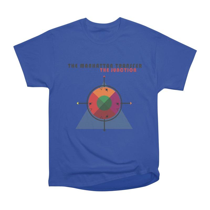 THE JUNCTION Men's Heavyweight T-Shirt by The Manhattan Transfer's Artist Shop