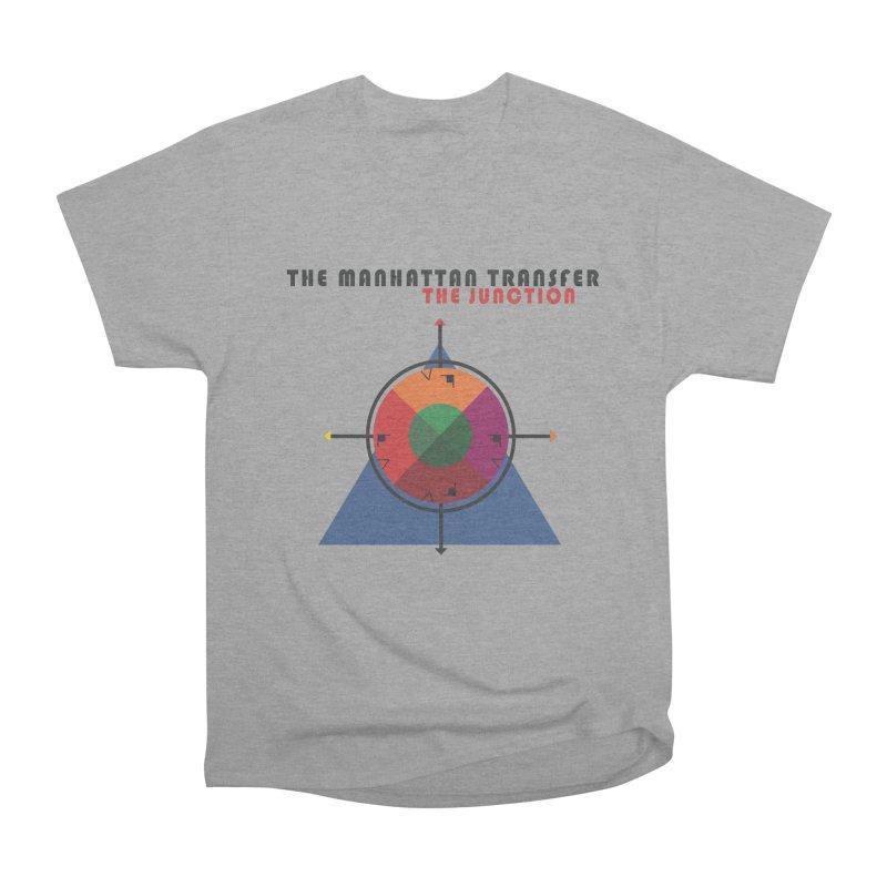 THE JUNCTION Women's Heavyweight Unisex T-Shirt by The Manhattan Transfer's Artist Shop
