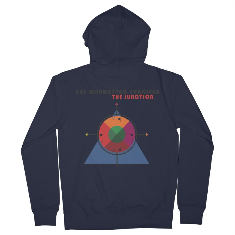 THE JUNCTION Women's French Terry Zip-Up Hoody by The Manhattan Transfer's Artist Shop
