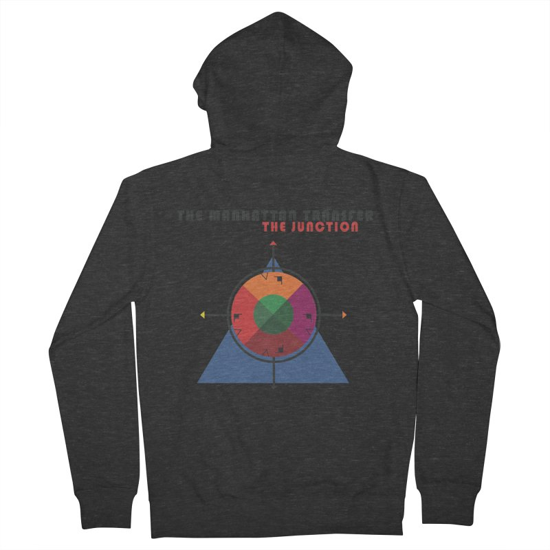 THE JUNCTION Men's Zip-Up Hoody by The Manhattan Transfer's Artist Shop