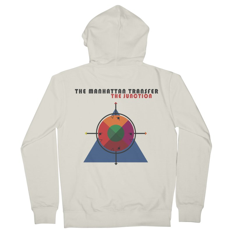 THE JUNCTION Men's French Terry Zip-Up Hoody by The Manhattan Transfer's Artist Shop