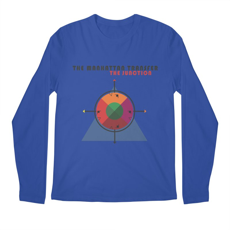 THE JUNCTION Men's Regular Longsleeve T-Shirt by The Manhattan Transfer's Artist Shop