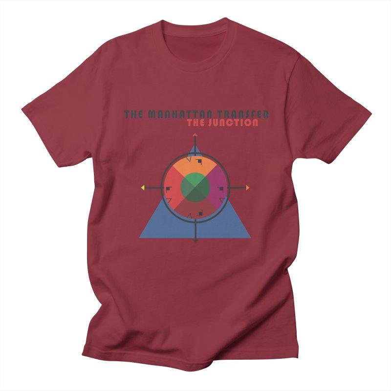 THE JUNCTION Men's Regular T-Shirt by The Manhattan Transfer's Artist Shop