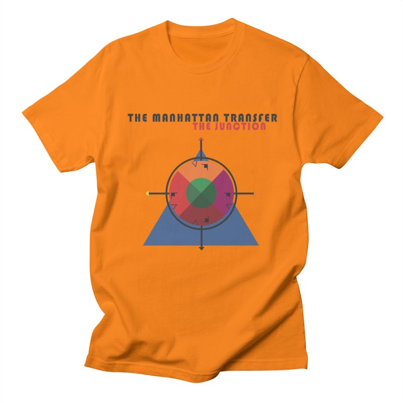 THE JUNCTION Women's Regular Unisex T-Shirt by The Manhattan Transfer's Artist Shop