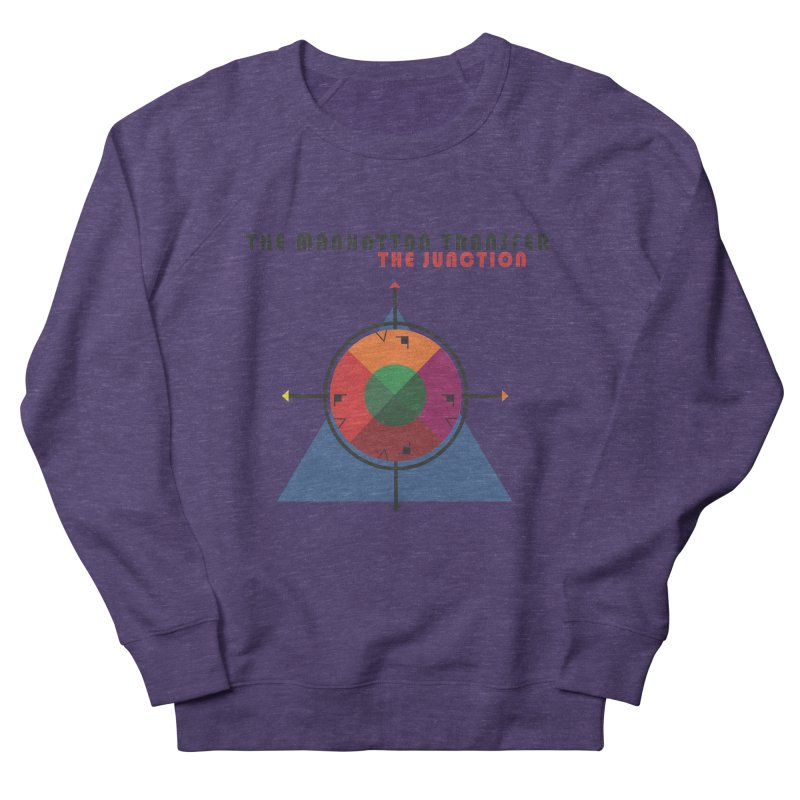 THE JUNCTION Women's French Terry Sweatshirt by The Manhattan Transfer's Artist Shop