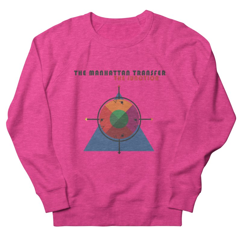 THE JUNCTION Men's French Terry Sweatshirt by The Manhattan Transfer's Artist Shop