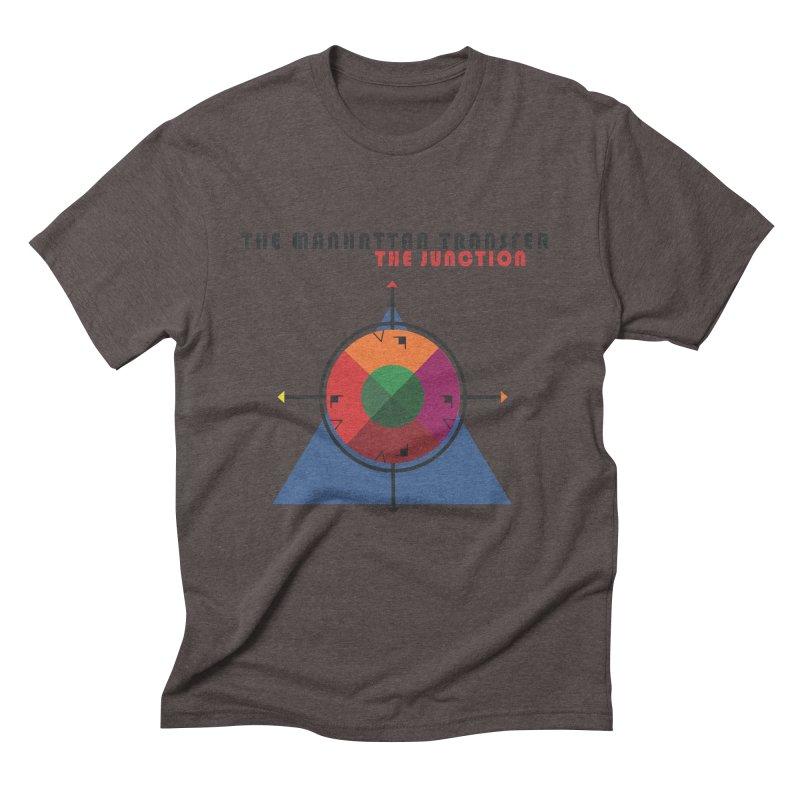 THE JUNCTION Men's Triblend T-Shirt by The Manhattan Transfer's Artist Shop