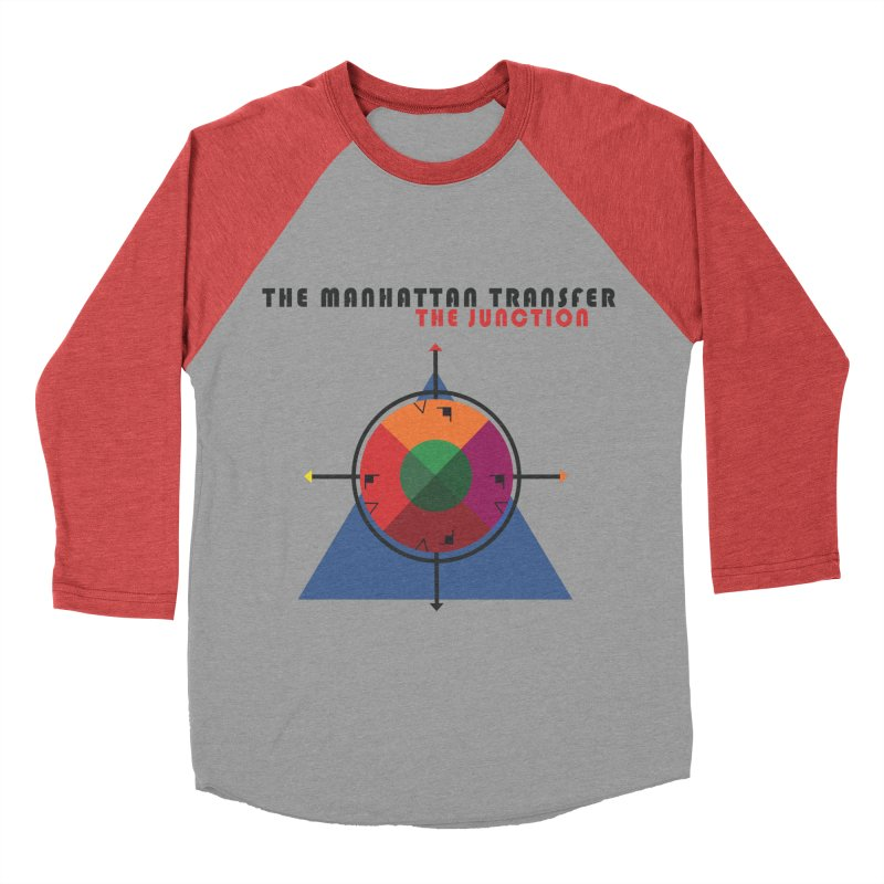 THE JUNCTION Women's Baseball Triblend Longsleeve T-Shirt by The Manhattan Transfer's Artist Shop