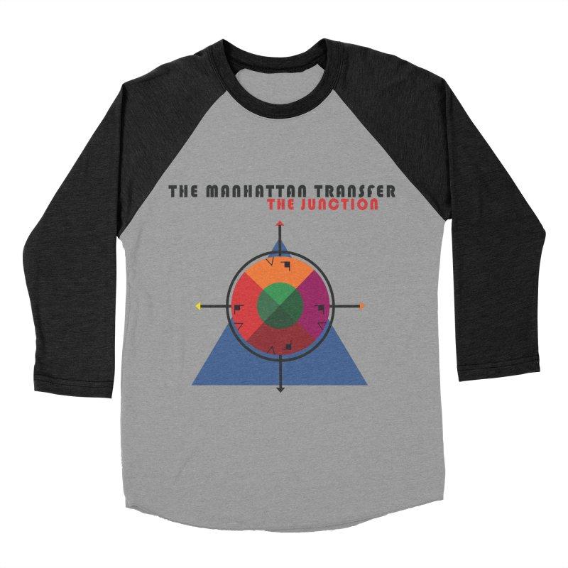 THE JUNCTION Men's Baseball Triblend Longsleeve T-Shirt by The Manhattan Transfer's Artist Shop