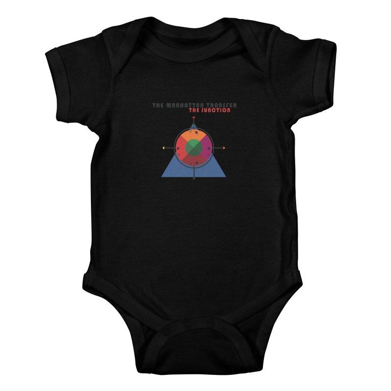 THE JUNCTION Kids Baby Bodysuit by The Manhattan Transfer's Artist Shop