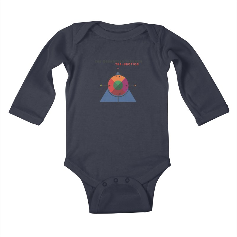 THE JUNCTION Kids Baby Longsleeve Bodysuit by The Manhattan Transfer's Artist Shop