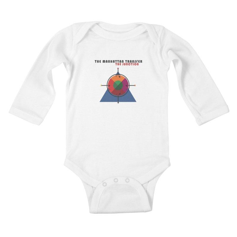 THE JUNCTION Kids Baby Longsleeve Bodysuit by The Manhattan Transfer's Artist Shop