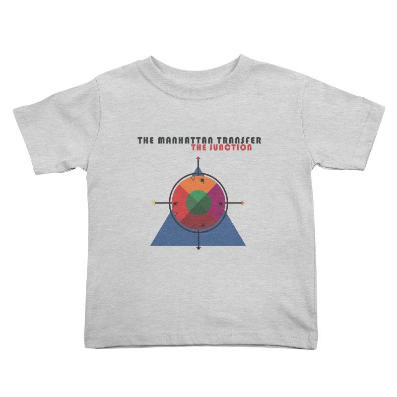 THE JUNCTION Kids Toddler T-Shirt by The Manhattan Transfer's Artist Shop