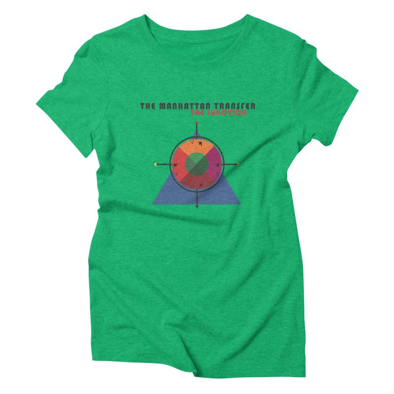 THE JUNCTION Women's T-Shirt by The Manhattan Transfer's Artist Shop