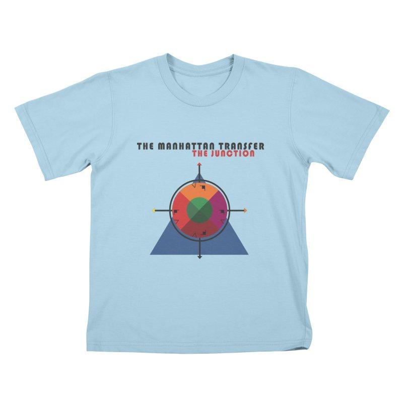 THE JUNCTION Kids T-Shirt by The Manhattan Transfer's Artist Shop