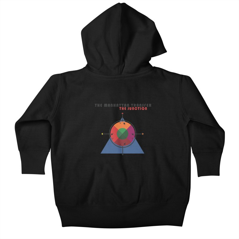 THE JUNCTION Kids Baby Zip-Up Hoody by The Manhattan Transfer's Artist Shop