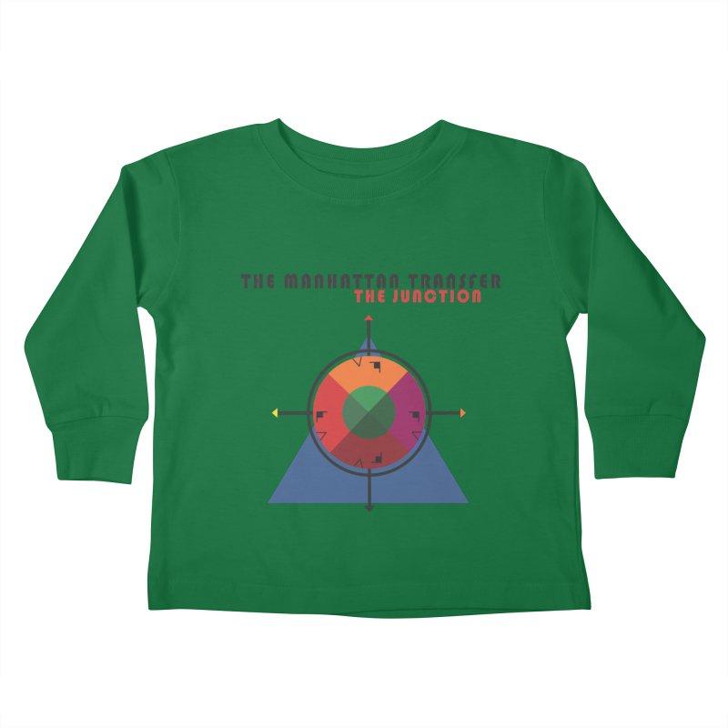 THE JUNCTION Kids Toddler Longsleeve T-Shirt by The Manhattan Transfer's Artist Shop