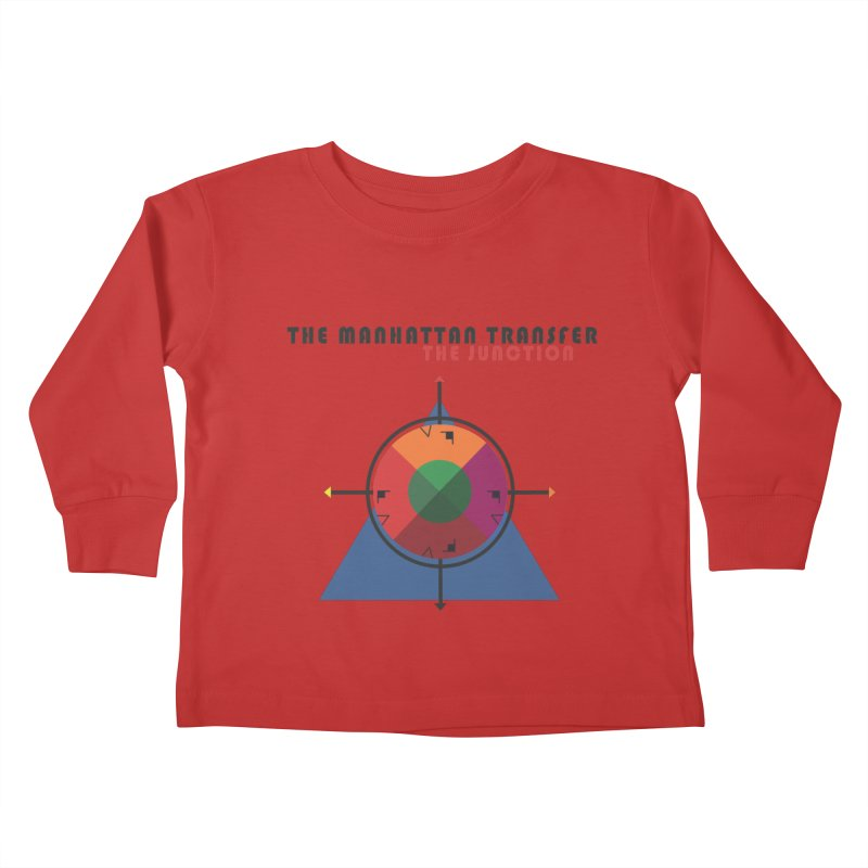 THE JUNCTION Kids Toddler Longsleeve T-Shirt by The Manhattan Transfer's Artist Shop
