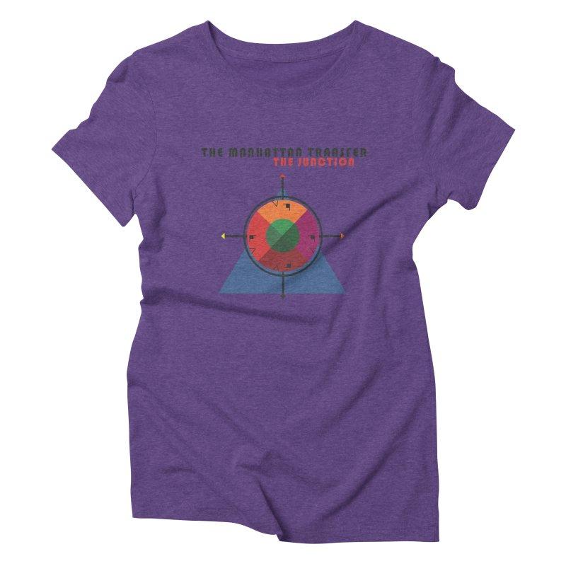 THE JUNCTION Women's Triblend T-Shirt by The Manhattan Transfer's Artist Shop