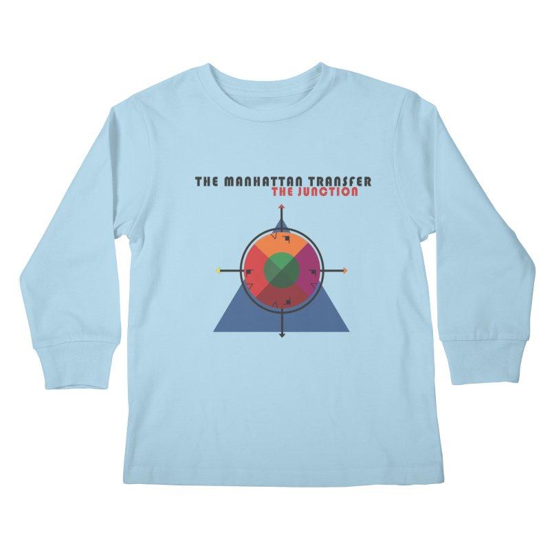 THE JUNCTION Kids Longsleeve T-Shirt by The Manhattan Transfer's Artist Shop