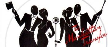 The Manhattan Transfer's Artist Shop Logo
