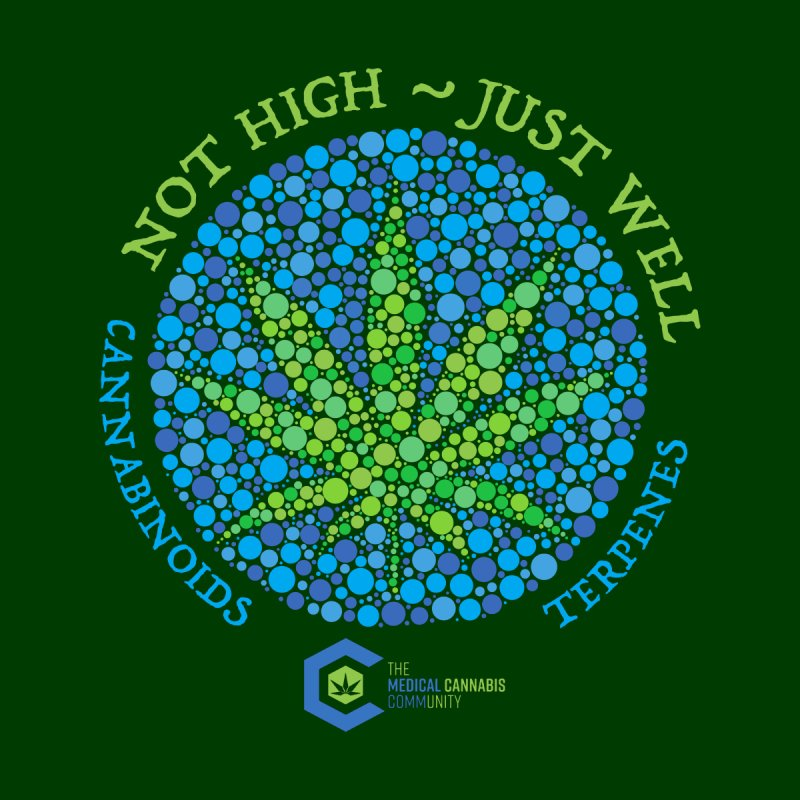 Not High ~ Just Well by The Medical Cannabis Community