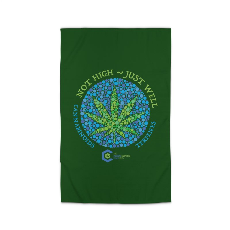 Not High ~ Just Well Home Rug by The Medical Cannabis Community