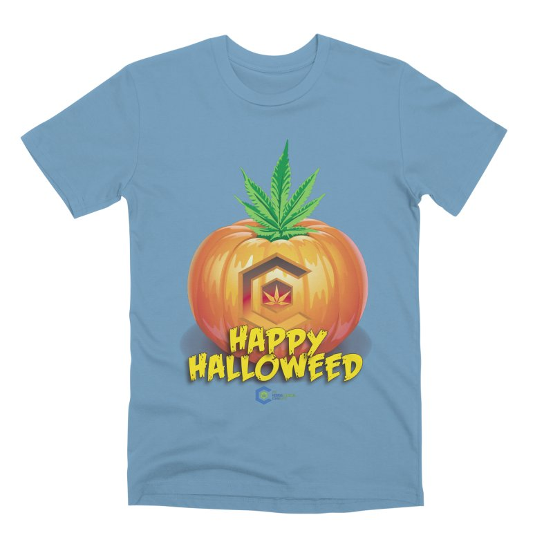 Happy Halloweed Men's Premium T-Shirt by The Medical Cannabis Community