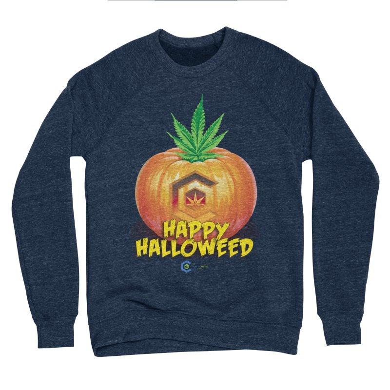 Happy Halloweed Women's Sponge Fleece Sweatshirt by The Medical Cannabis Community
