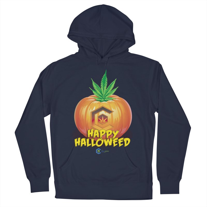 Happy Halloweed Women's French Terry Pullover Hoody by The Medical Cannabis Community