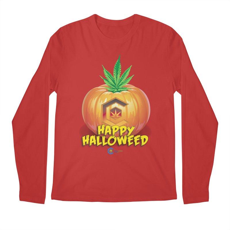 Happy Halloweed Men's Regular Longsleeve T-Shirt by The Medical Cannabis Community