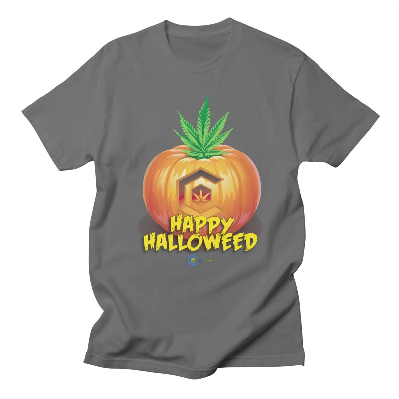 Happy Halloweed Men's T-Shirt by The Medical Cannabis Community