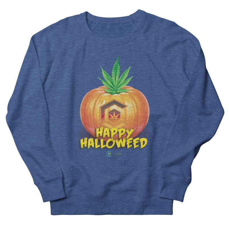 Happy Halloweed Women's French Terry Sweatshirt by The Medical Cannabis Community