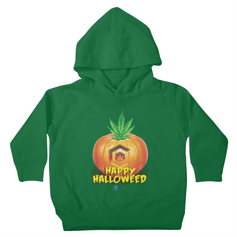 Happy Halloweed Kids Toddler Pullover Hoody by The Medical Cannabis Community