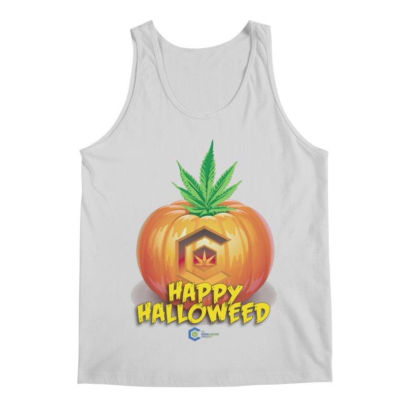 Happy Halloweed Men's Regular Tank by The Medical Cannabis Community