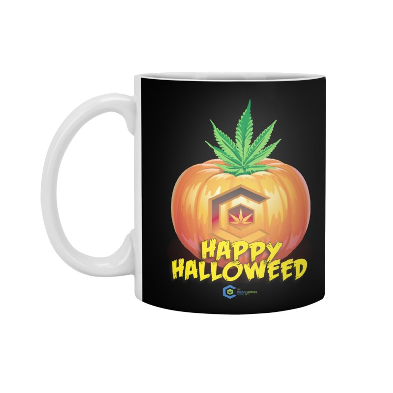 Happy Halloweed Accessories Standard Mug by The Medical Cannabis Community