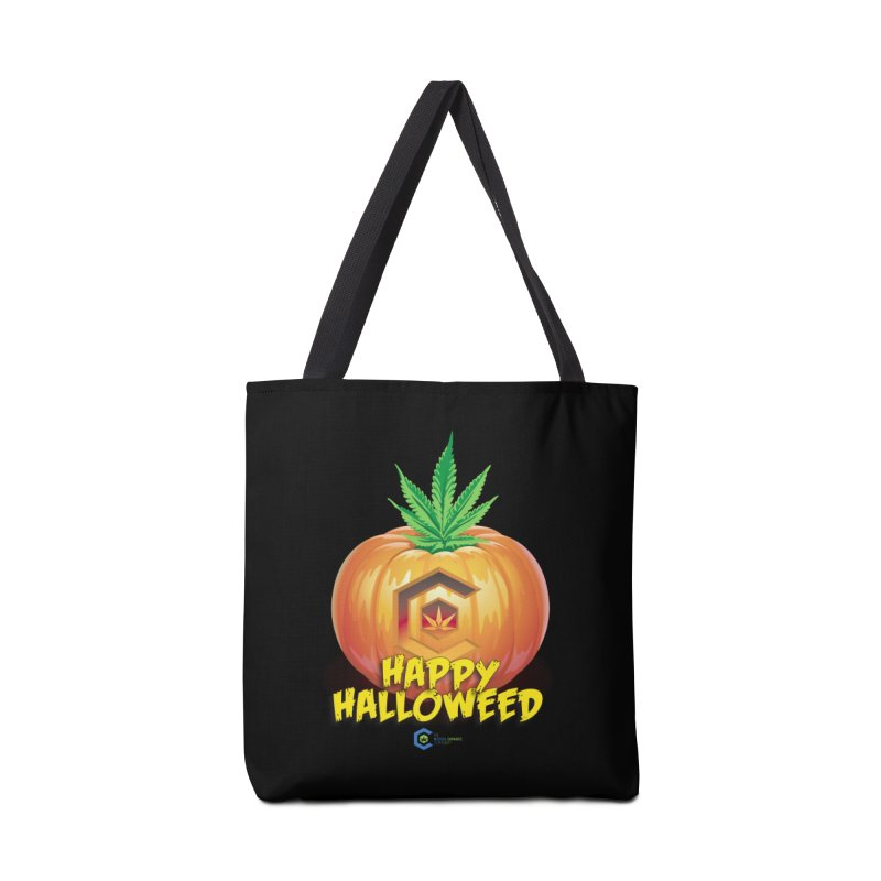 Happy Halloweed Accessories Tote Bag Bag by The Medical Cannabis Community