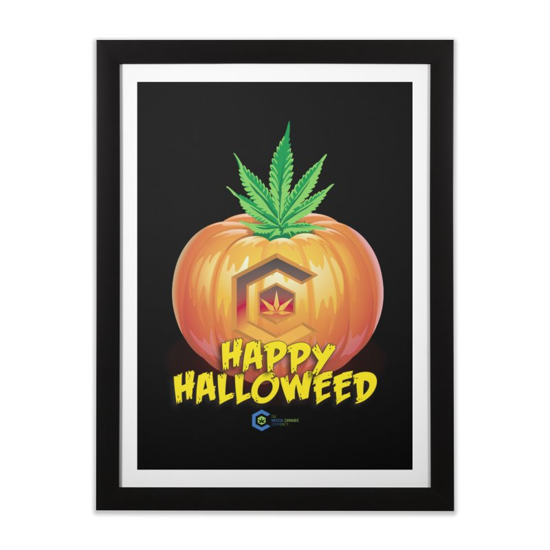 Happy Halloweed Home Framed Fine Art Print by The Medical Cannabis Community