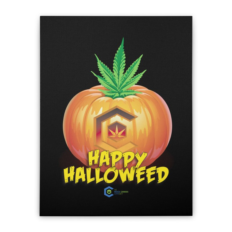 Happy Halloweed Home Stretched Canvas by The Medical Cannabis Community