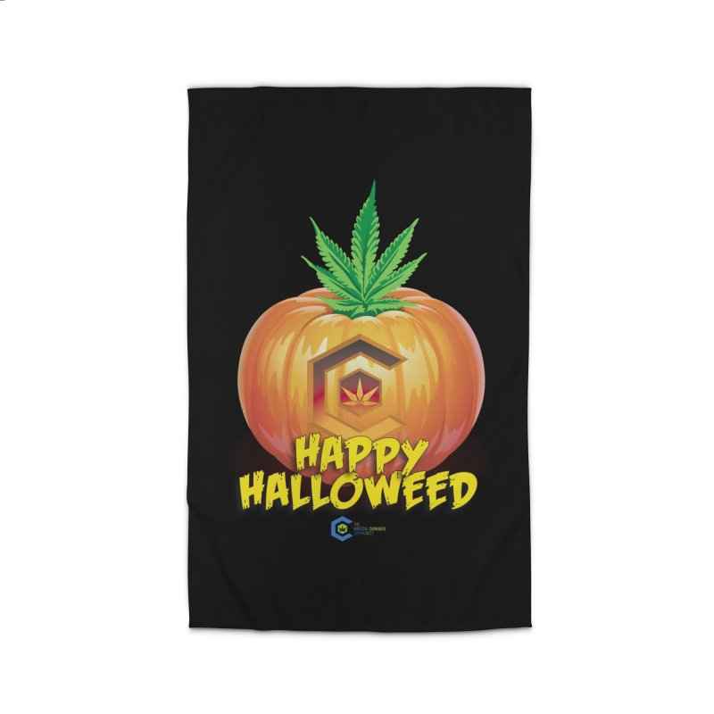 Happy Halloweed Home Rug by The Medical Cannabis Community