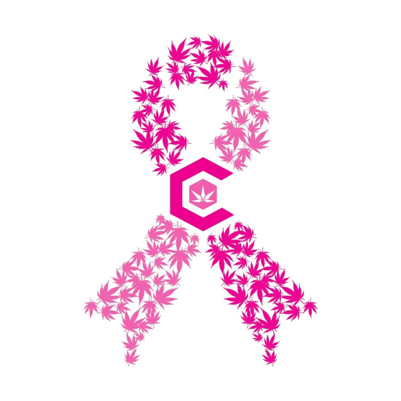 TMCC Pink Ribbon Accessories Sticker by The Medical Cannabis Community