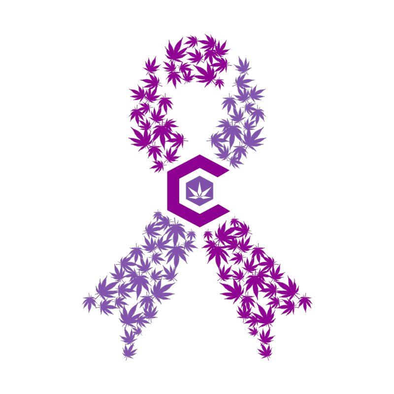 TMCC Purple Ribbon Women's T-Shirt by The Medical Cannabis Community