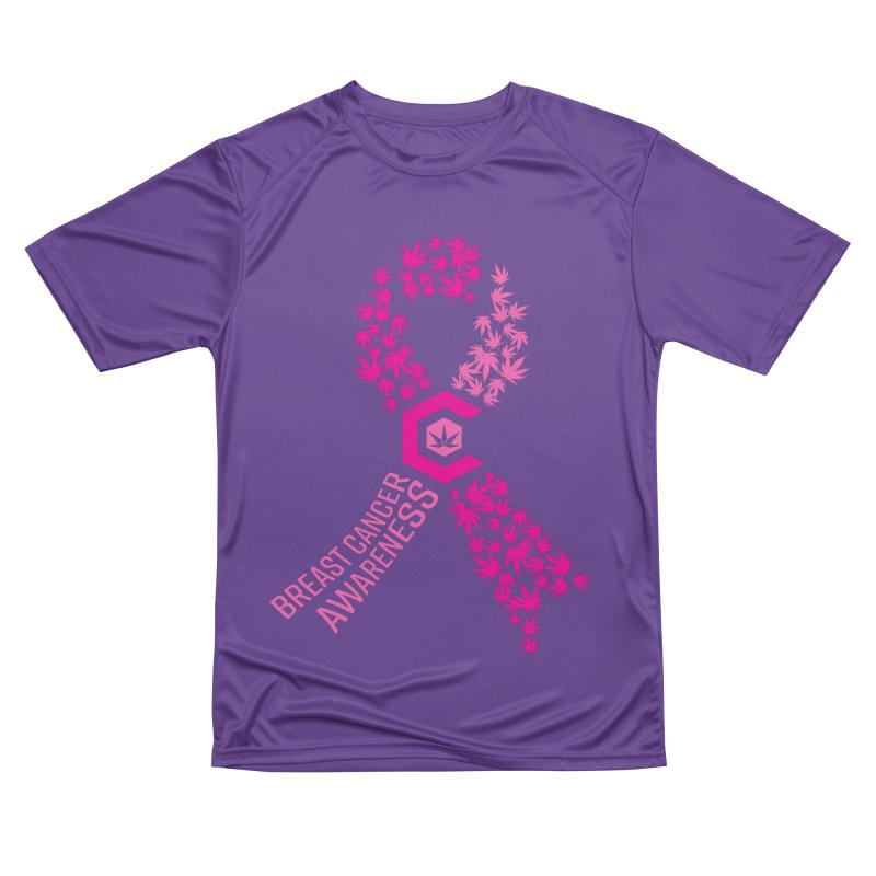 TMCC Breast Cancer Awareness Women's Performance Unisex T-Shirt by The Medical Cannabis Community