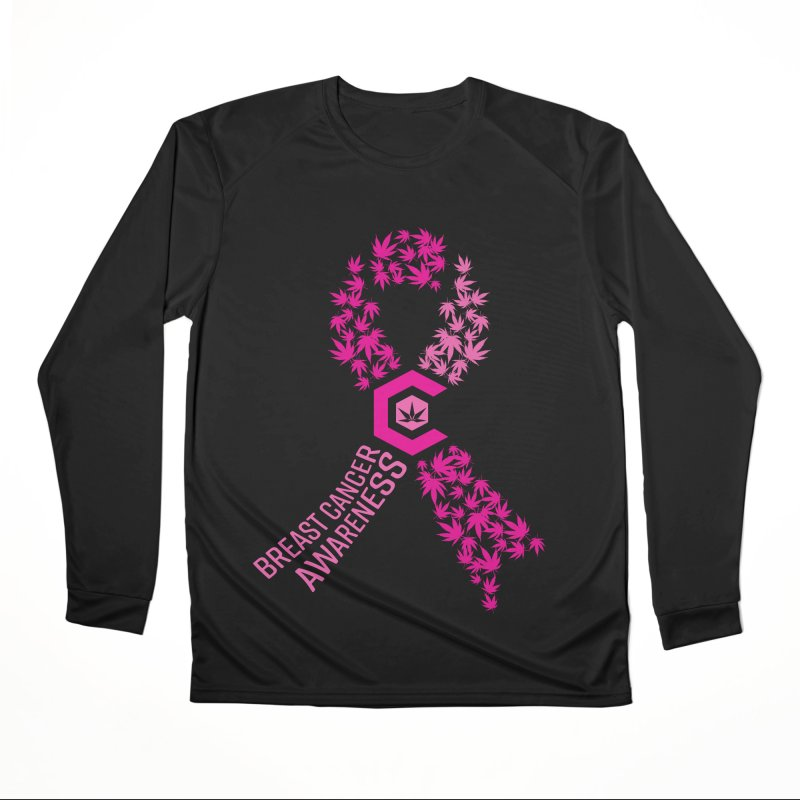 TMCC Breast Cancer Awareness Men's Performance Longsleeve T-Shirt by The Medical Cannabis Community