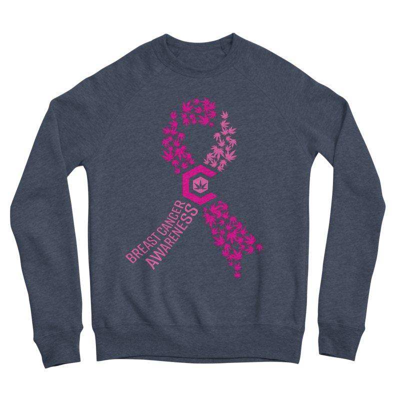 TMCC Breast Cancer Awareness Women's Sponge Fleece Sweatshirt by The Medical Cannabis Community